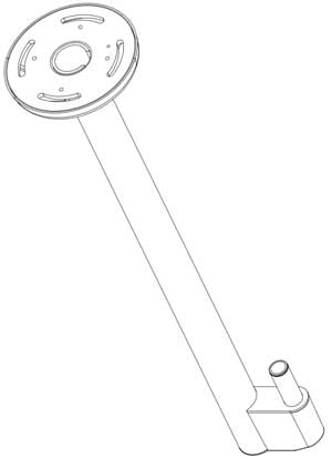 Ceiling Mount Drawing