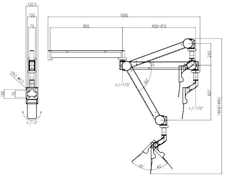 FX100 Technical Drawings