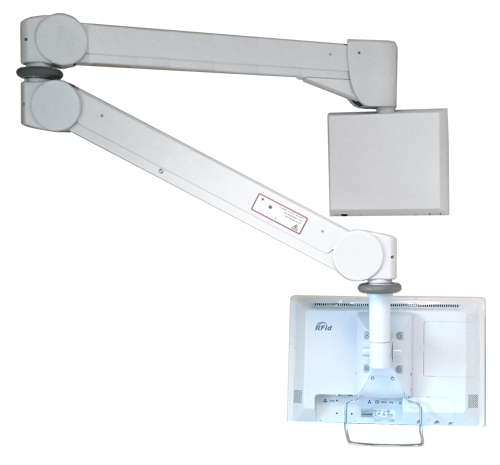 FX200 Hospital Bedside Arm With Wall-mounted Terminal