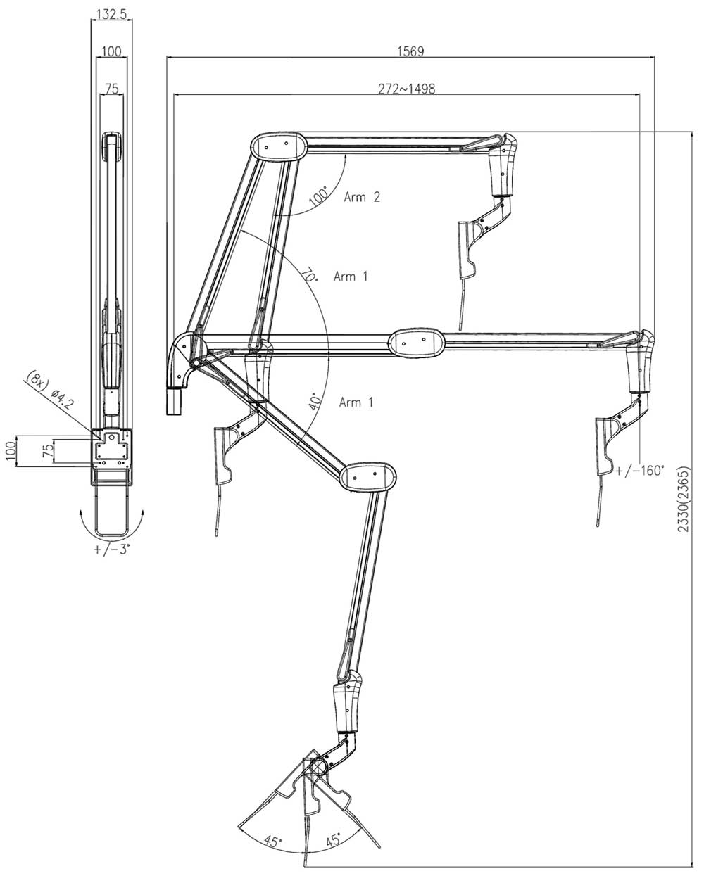 FX300 Technical Drawing