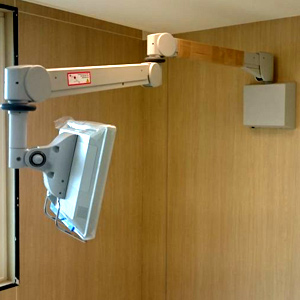 Folcrom Hospital Arm Wall Mount