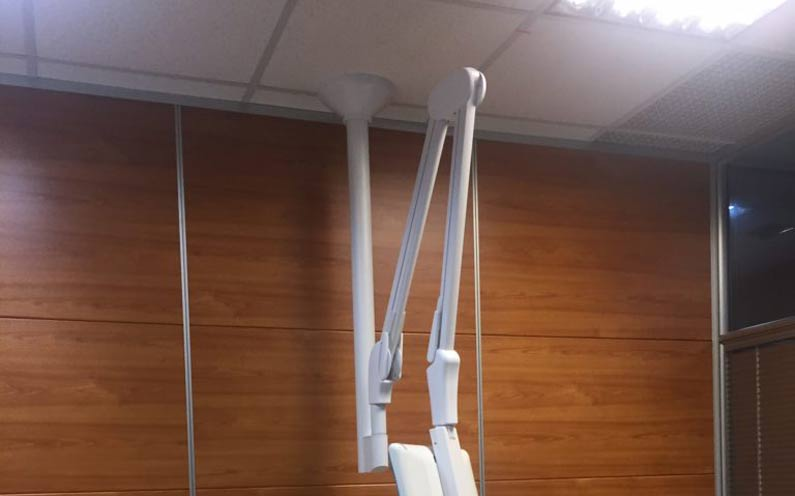 How To Install Folcrom Hospital Bedside Arms On Tall Ceilings